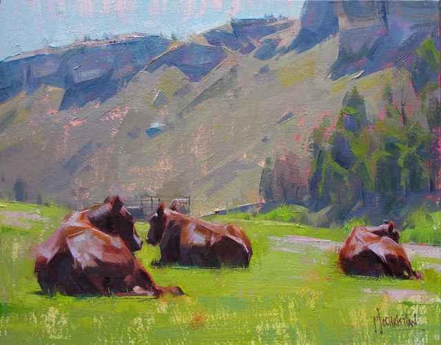 'Three's a Crowd' by  Jennifer McChristian - Masterpiece Online
