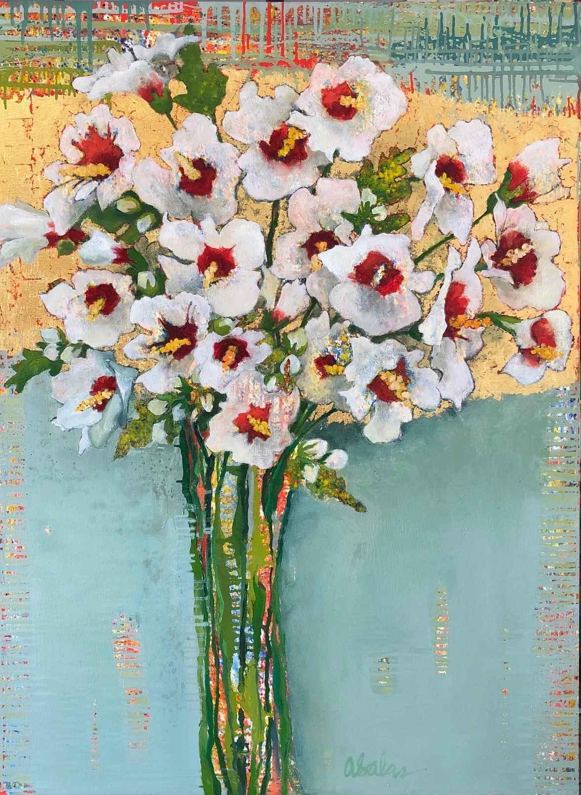 White Hibiscus #1583 by  Anne Salas - Masterpiece Online