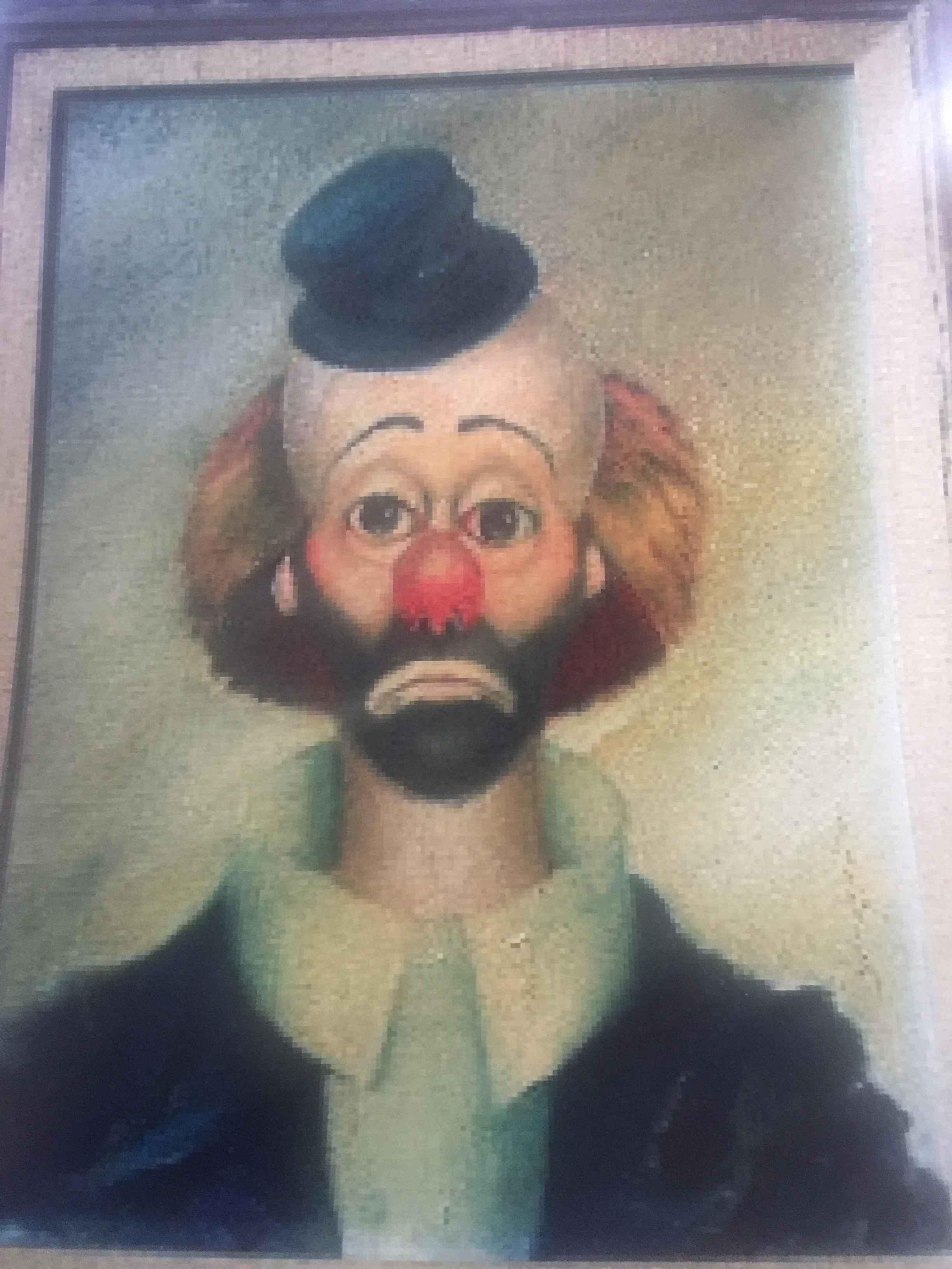 Clown (Bearded) by  Red Skelton - Masterpiece Online