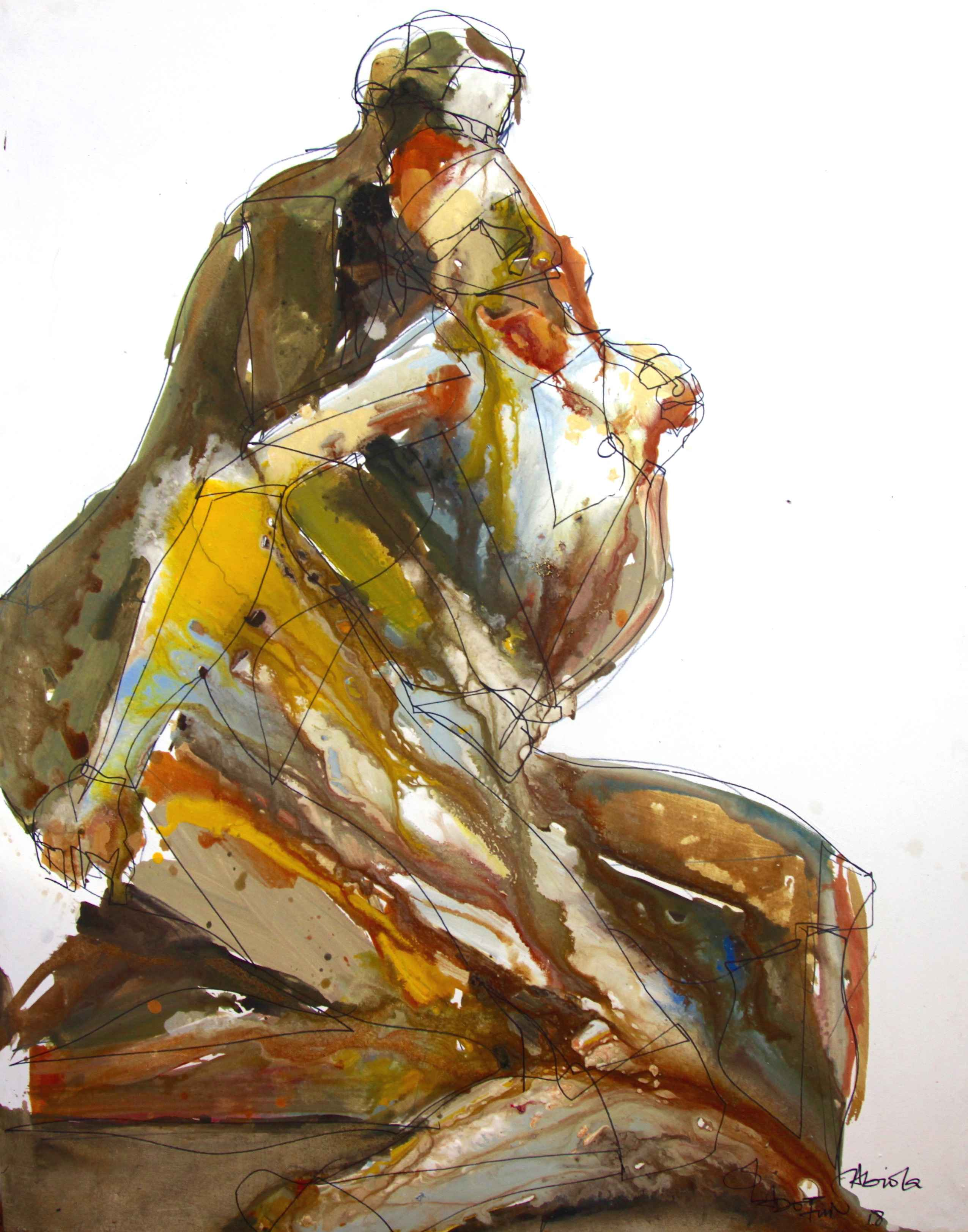 The Lovers by Mr Oladotun Abiola - Masterpiece Online