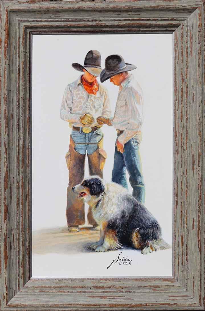 Apprentice Cowboys by  Gordon Snidow - Masterpiece Online