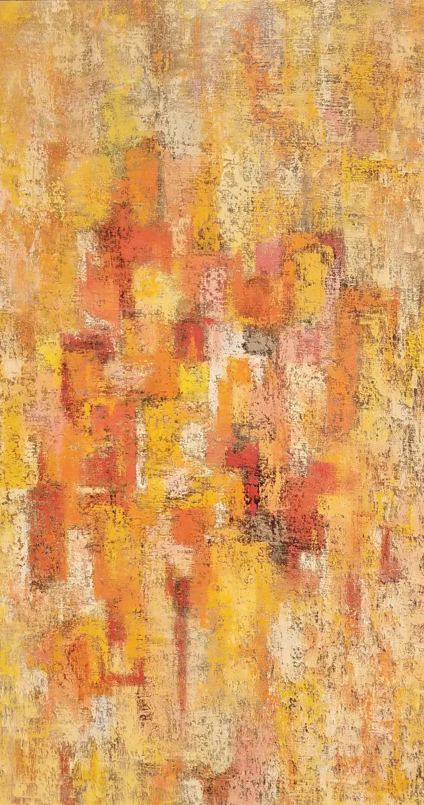 Untitled (Yellow Abst... by Mr. Fred Berman - Masterpiece Online