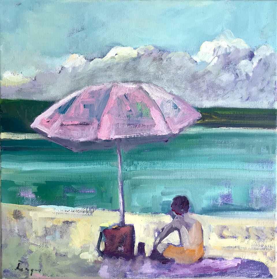 Beachin' It (Plein Ai... by  Traeger di Pietro - Masterpiece Online