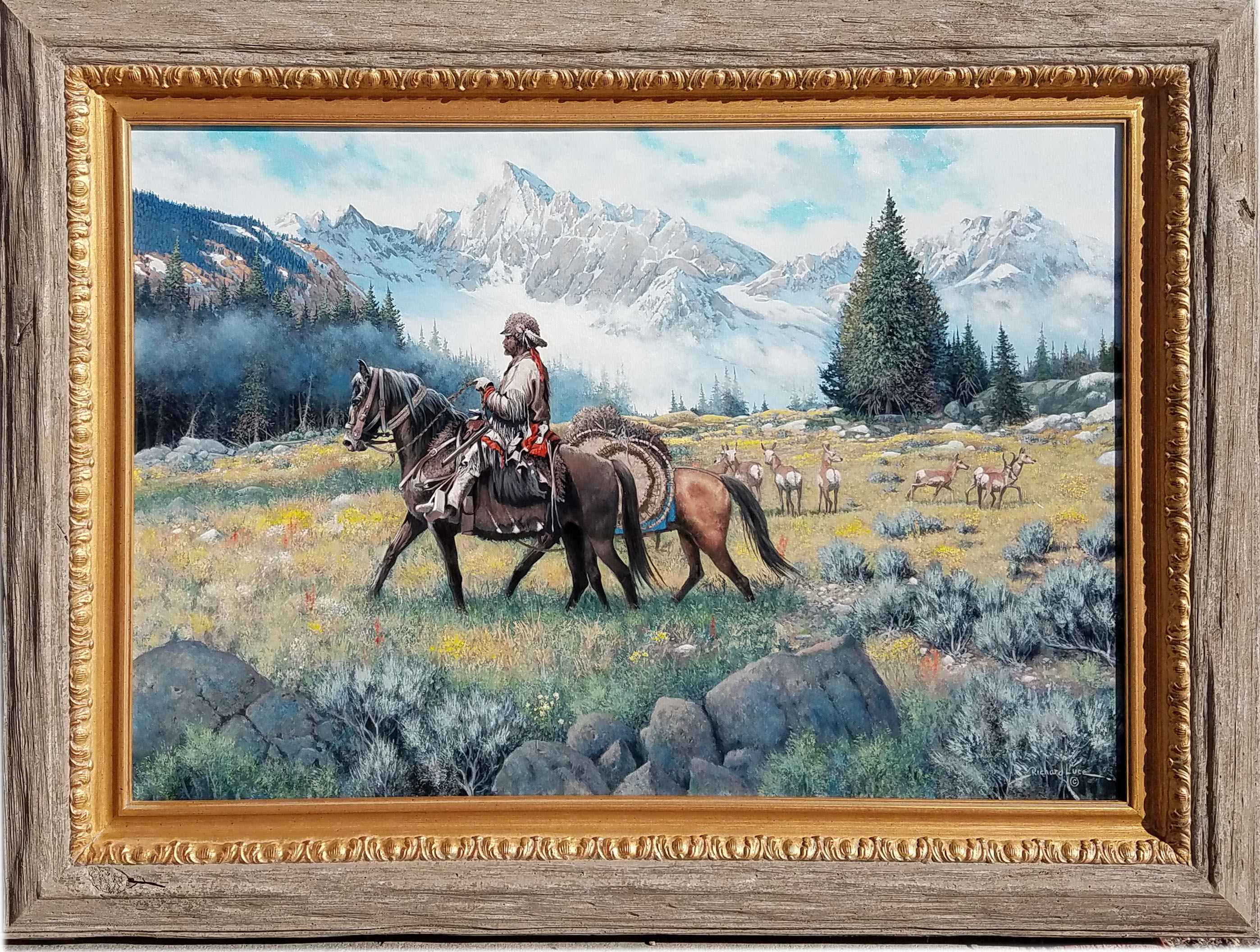 The Free Trapper by  Richard Luce - Masterpiece Online