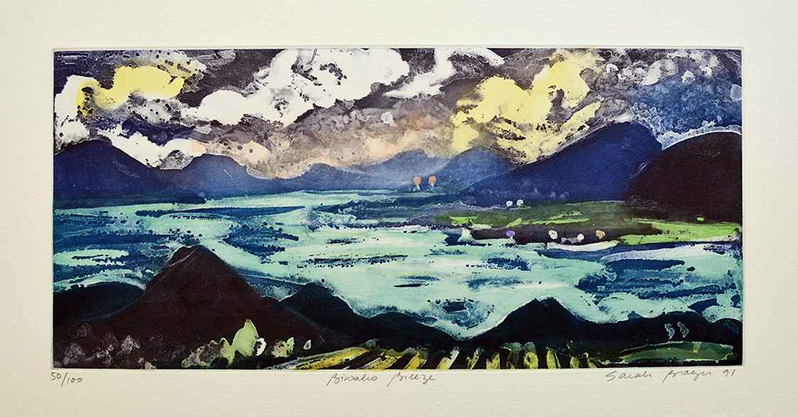 Biwako Breeze by  Sarah Brayer - Masterpiece Online