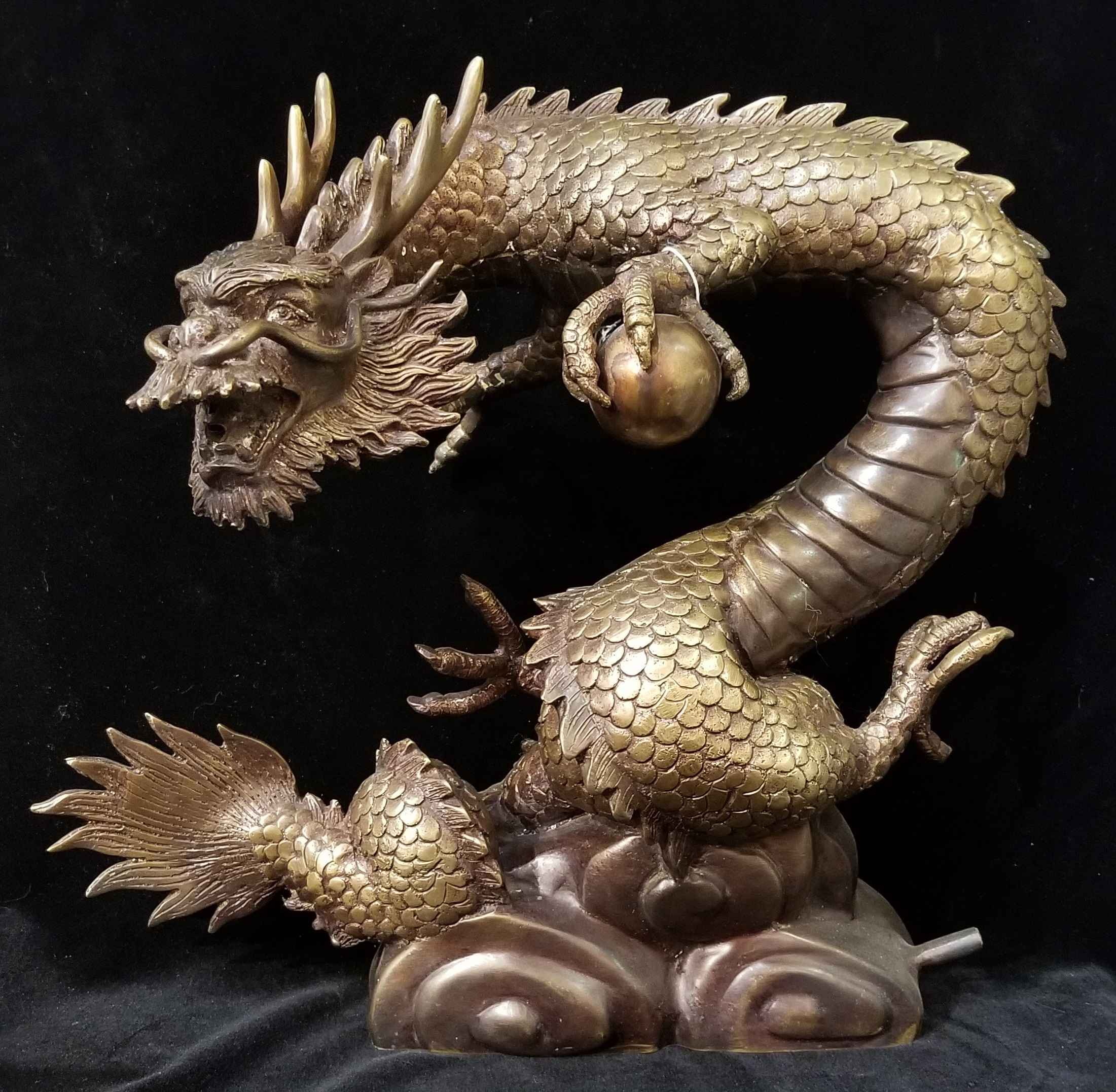 Dragon With Ball by  Gallery Pieces - Masterpiece Online