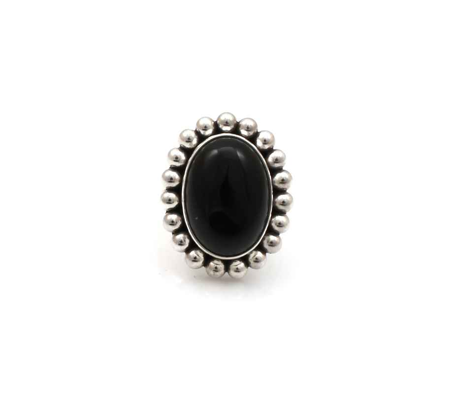 Black Onyx Ring by  Artie Yellowhorse - Masterpiece Online