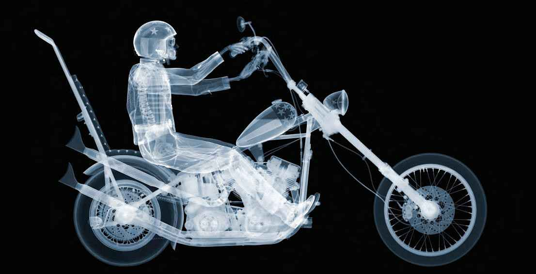 Easy Rider by  Nick Veasey - Masterpiece Online