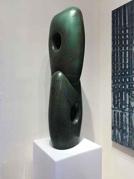 Ash Green Dyad by  Jarrett West - Masterpiece Online