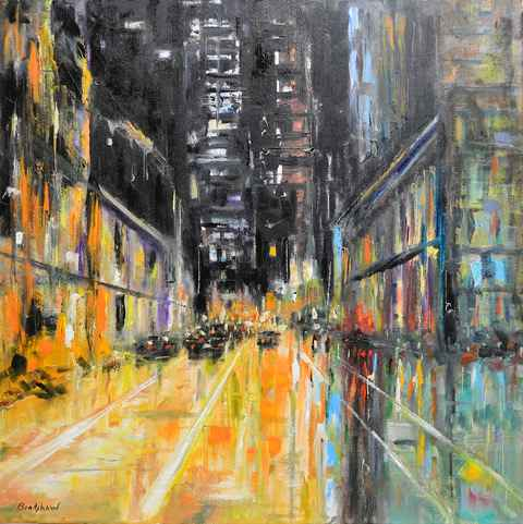 City After Midnight by  Bob Bradshaw - Masterpiece Online
