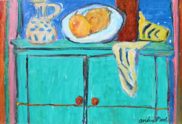 Drawer With Fruit On ... by  Andres  Morillo - Masterpiece Online