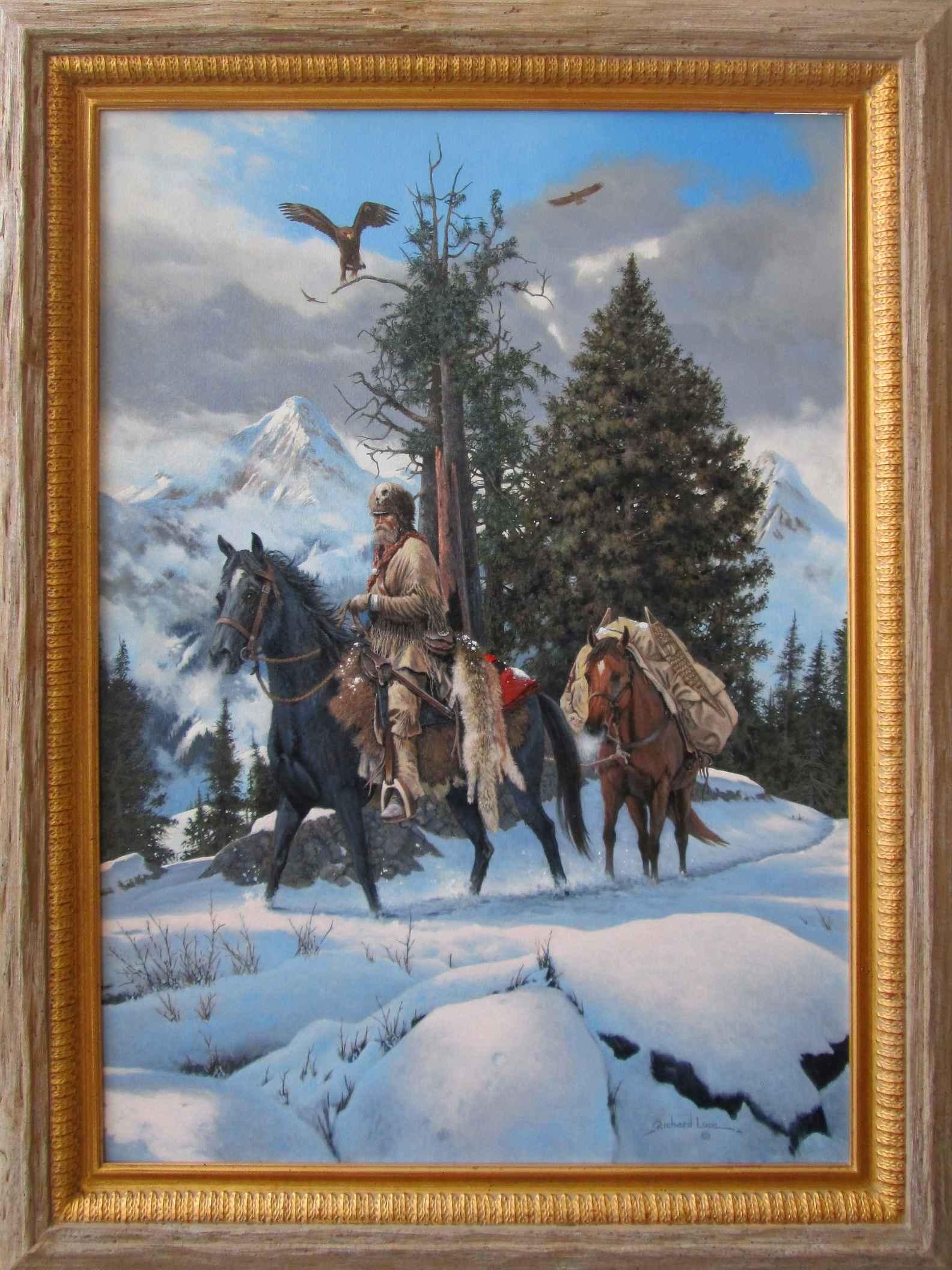 Trekking the High Cou... by  Richard Luce - Masterpiece Online