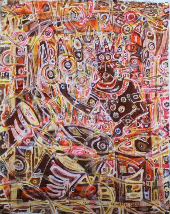 Lord of the Drum by  Makemba Kunle - Masterpiece Online