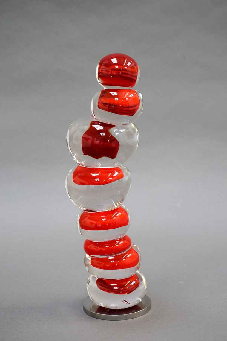 Untitled - RED STACK ... by  Gregory Price - Masterpiece Online