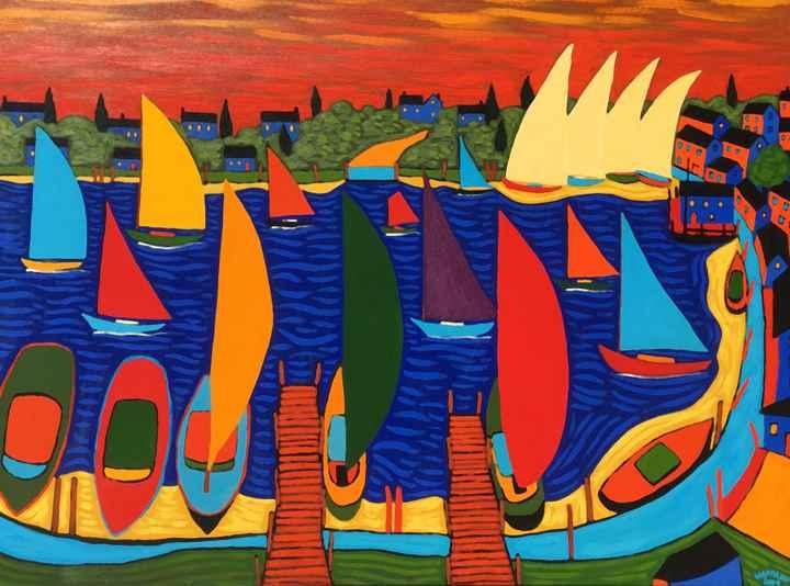 Summertime by  Claudio Gasparini - Masterpiece Online
