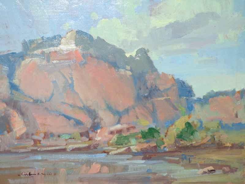 River Below Red Rock by Mr. Gene Costanza - Masterpiece Online