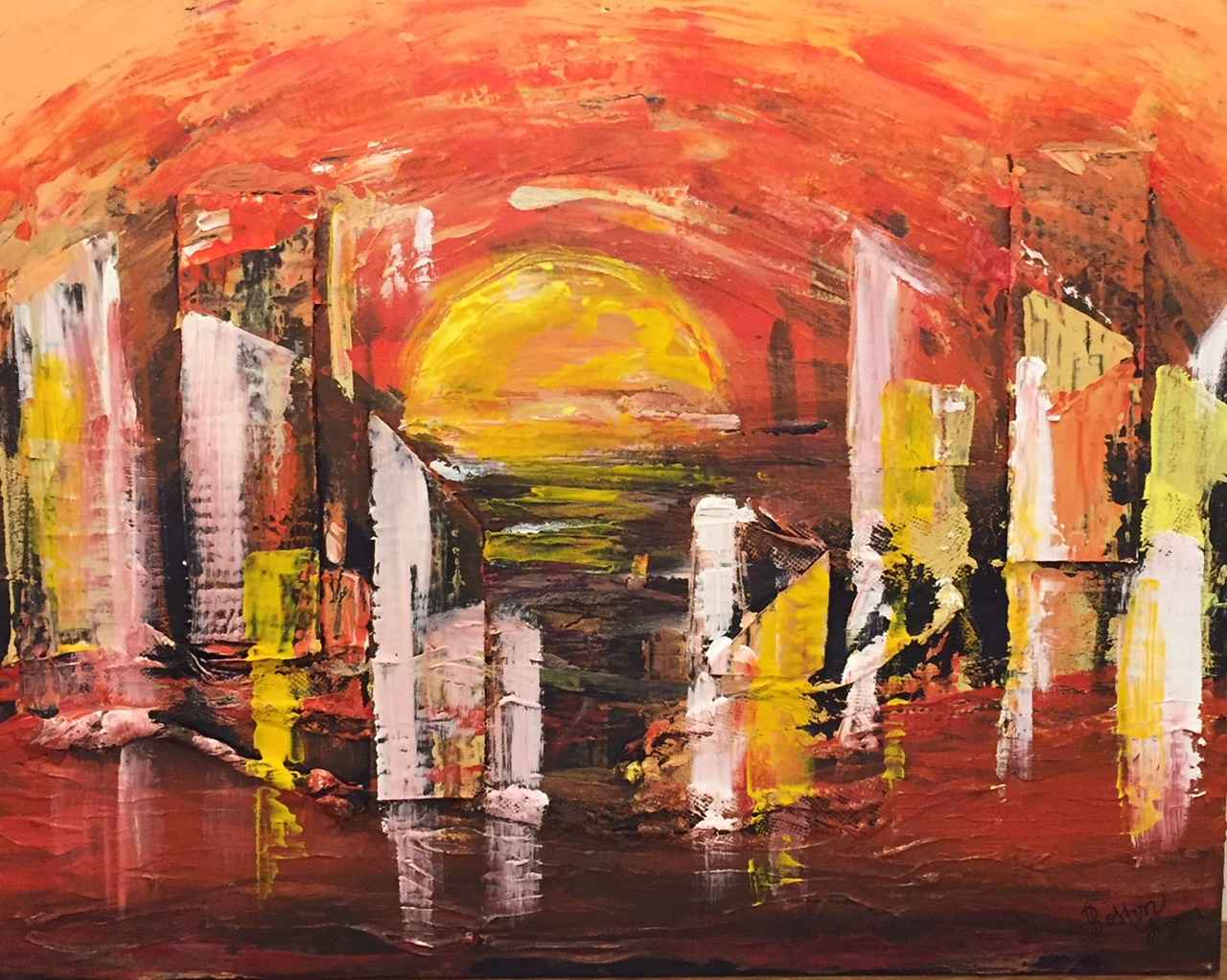 Hot Summer in the City by  Boston Logan - Masterpiece Online