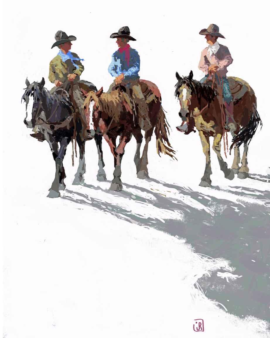 3 Good Friends by Mr. & Mrs. Jim Rey - Masterpiece Online