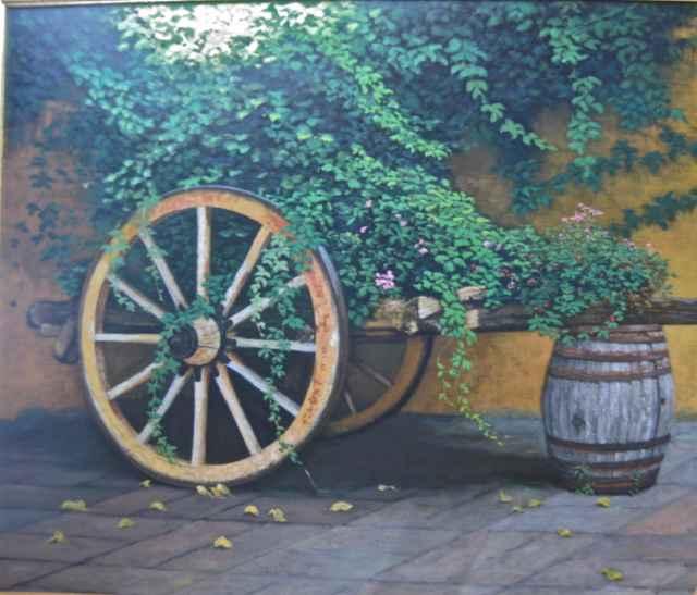 Ivy Wagon by  Edwin B. Kayton - Masterpiece Online
