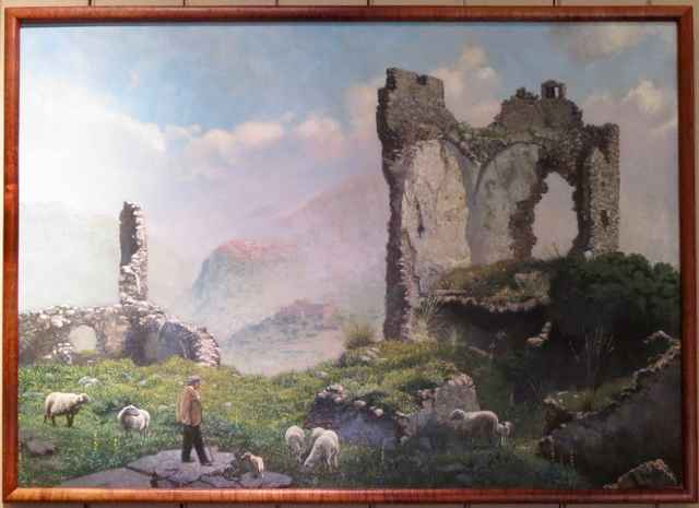 Tuscan Ruins by  Edwin B. Kayton - Masterpiece Online