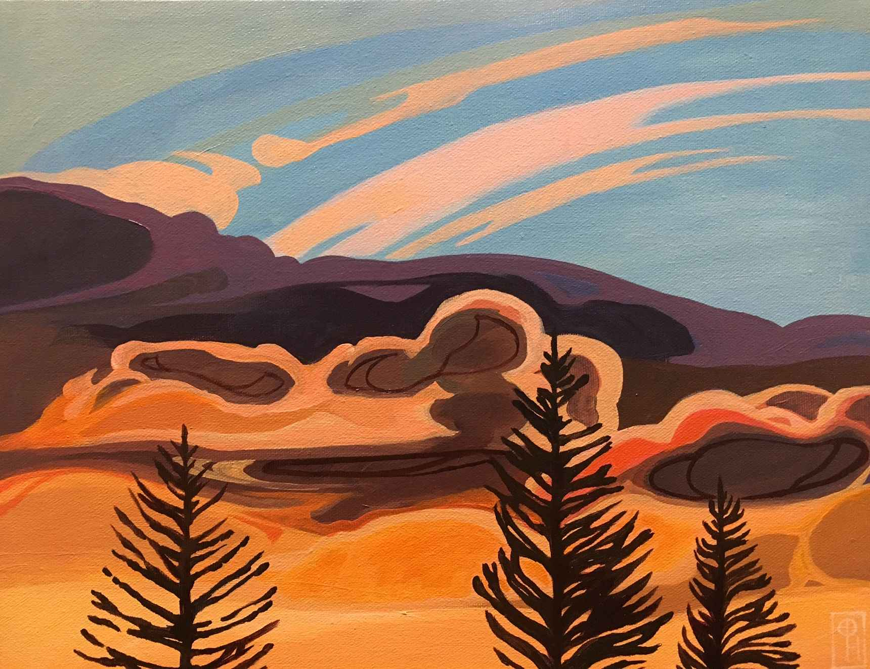 Canmore Sky by  Erica Hawkes - Masterpiece Online