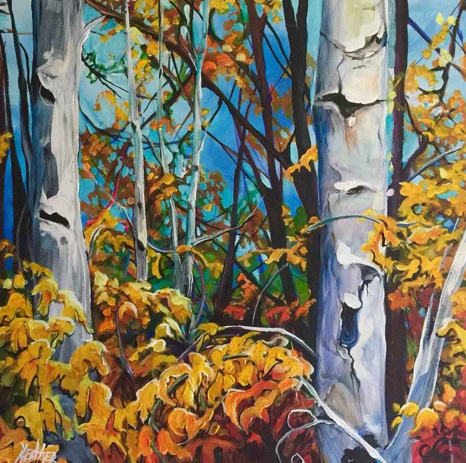 Among the Birch by  Heather Pant - Masterpiece Online