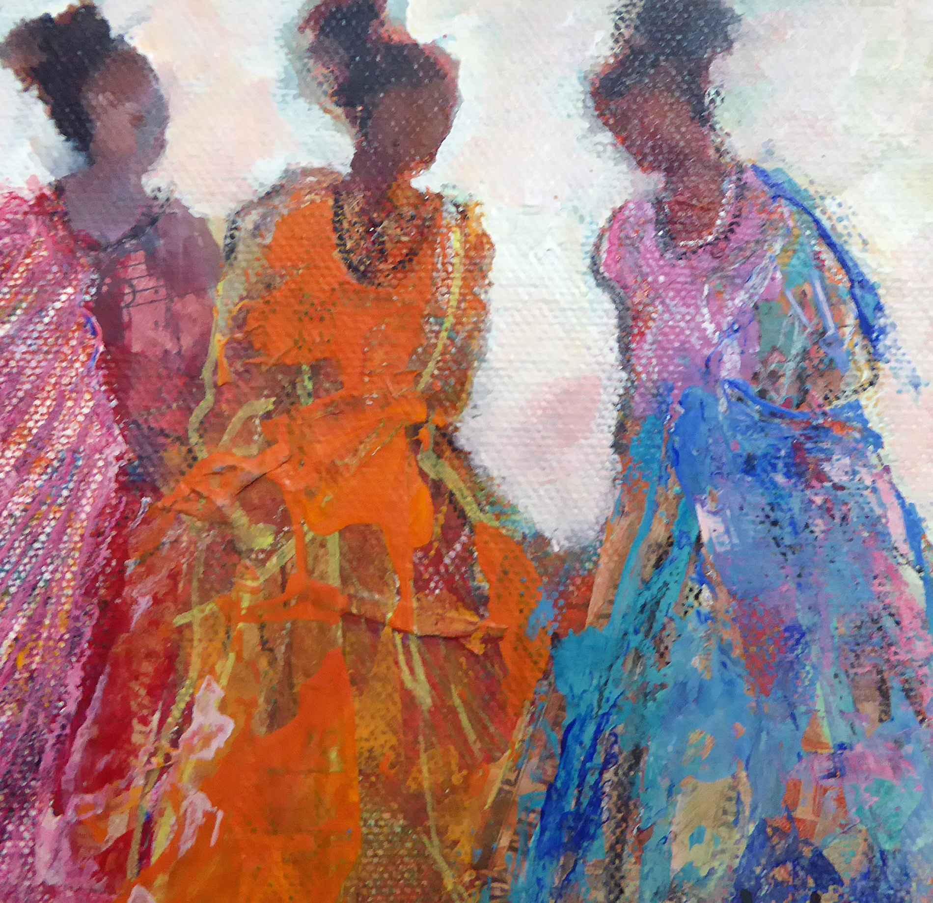 Girl Talk by  Cheryl Waale - Masterpiece Online