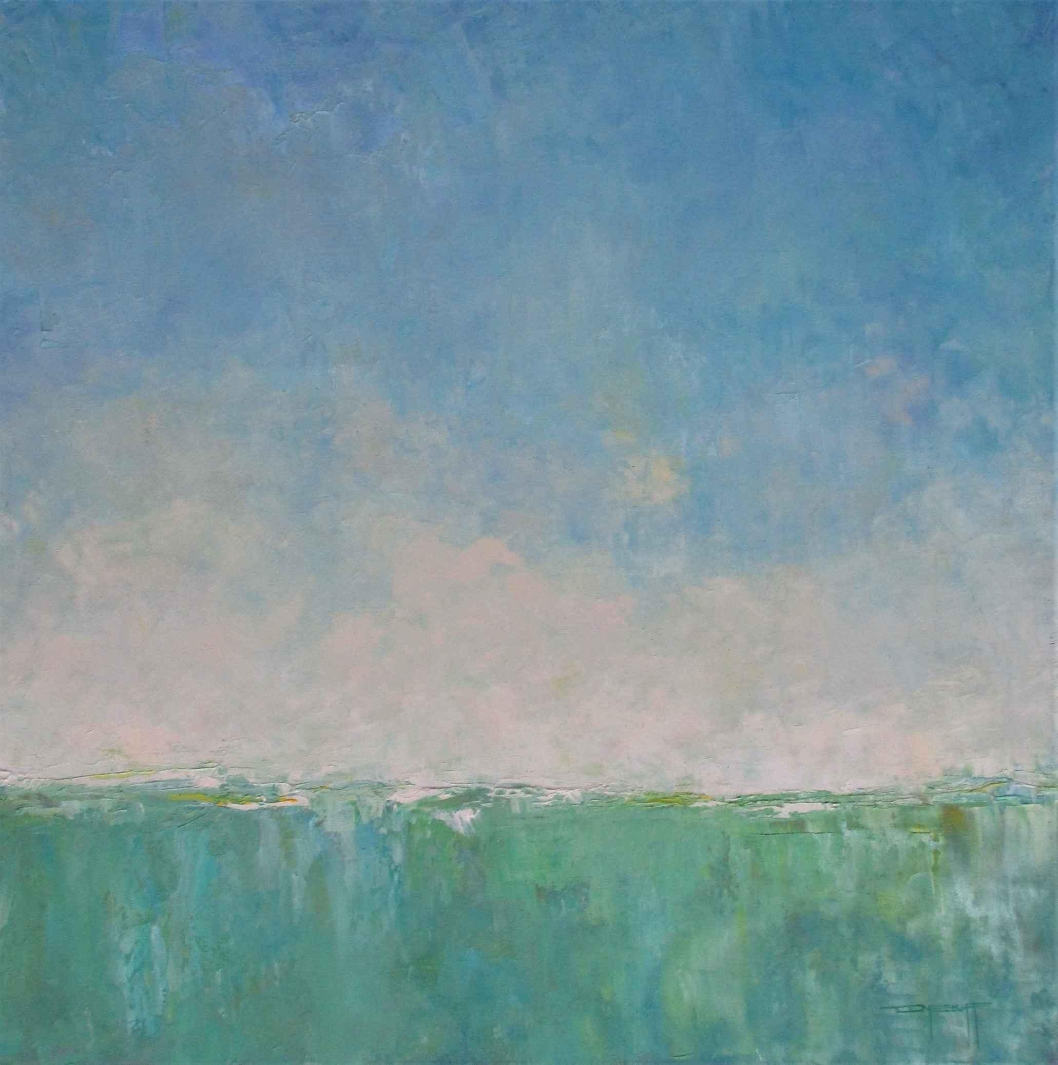 Unknown ( Green gradi... by  Don Bishop - Masterpiece Online
