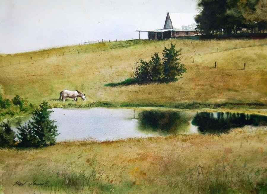 Down the Hill by Mr Mark Stewart - Masterpiece Online