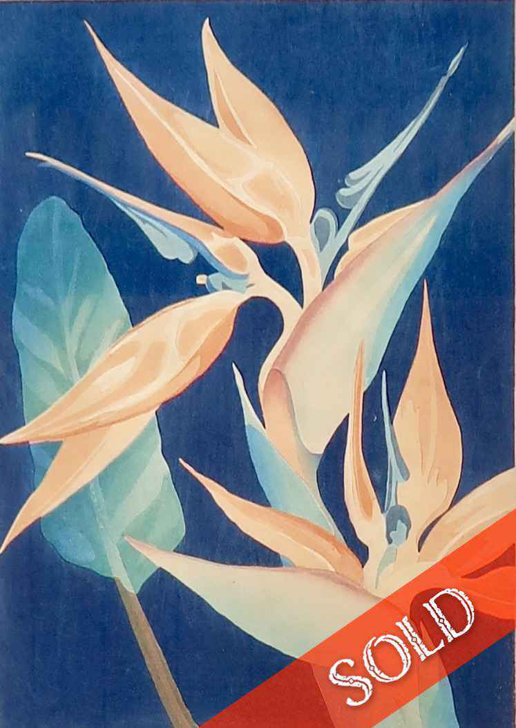 Bird of Paradise by  Shirley Russell (1886-1985) - Masterpiece Online