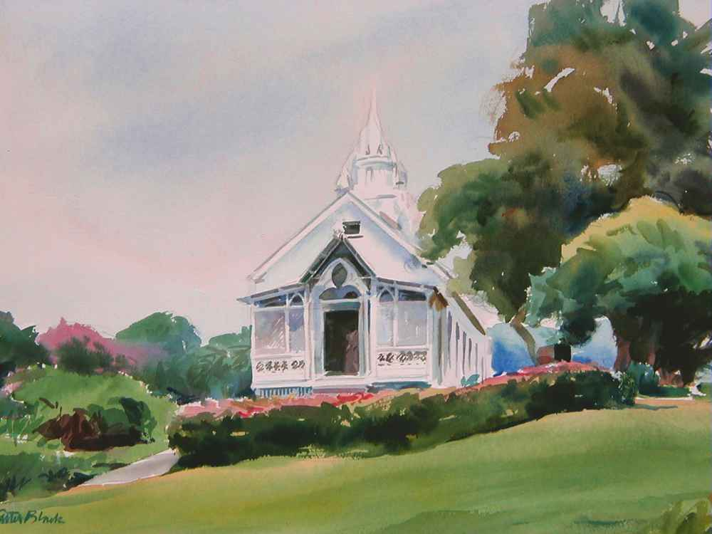 The Painted Church by  Carter Black - Masterpiece Online