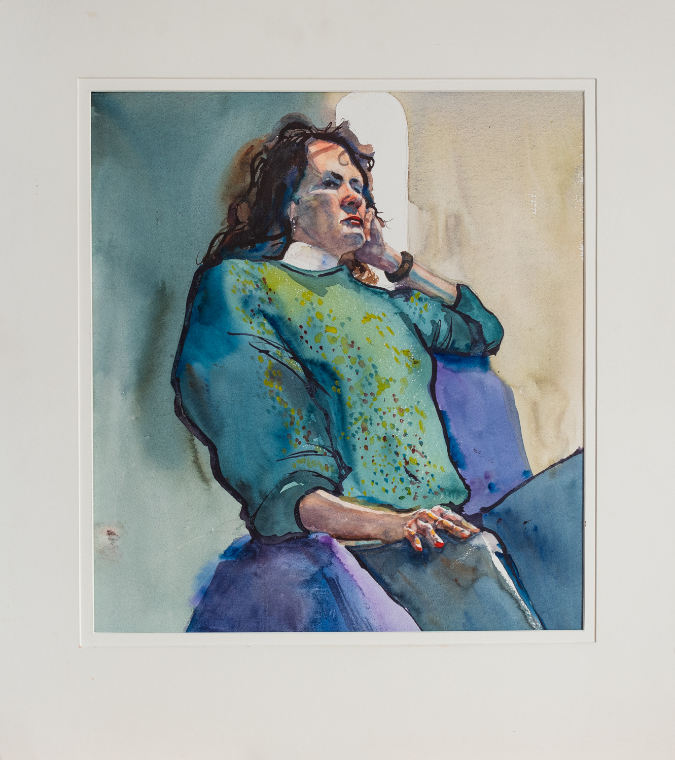 Woman Thinking by  William Sherman - Masterpiece Online