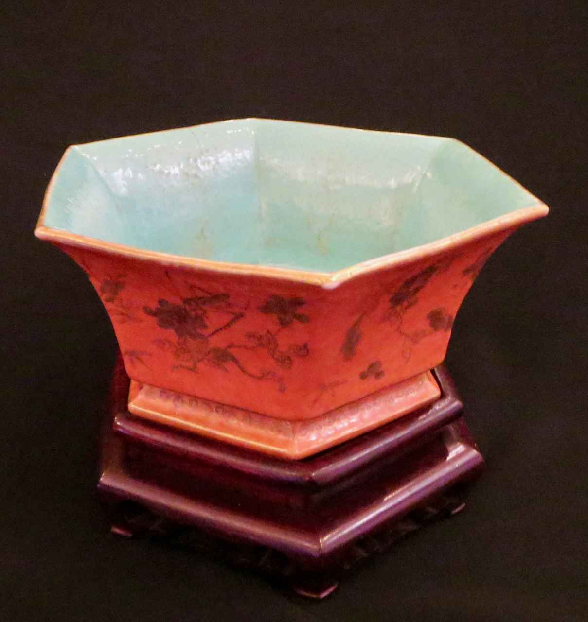Chinese Hexagonal Bowl by  Unknown Unknown - Masterpiece Online