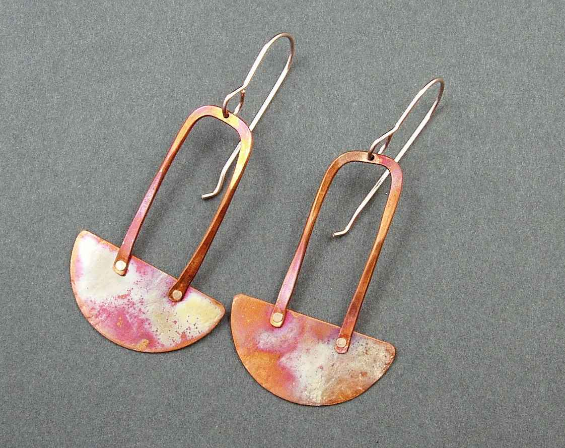 E2111 Copper and Rose... by  Mary Heuer - Masterpiece Online