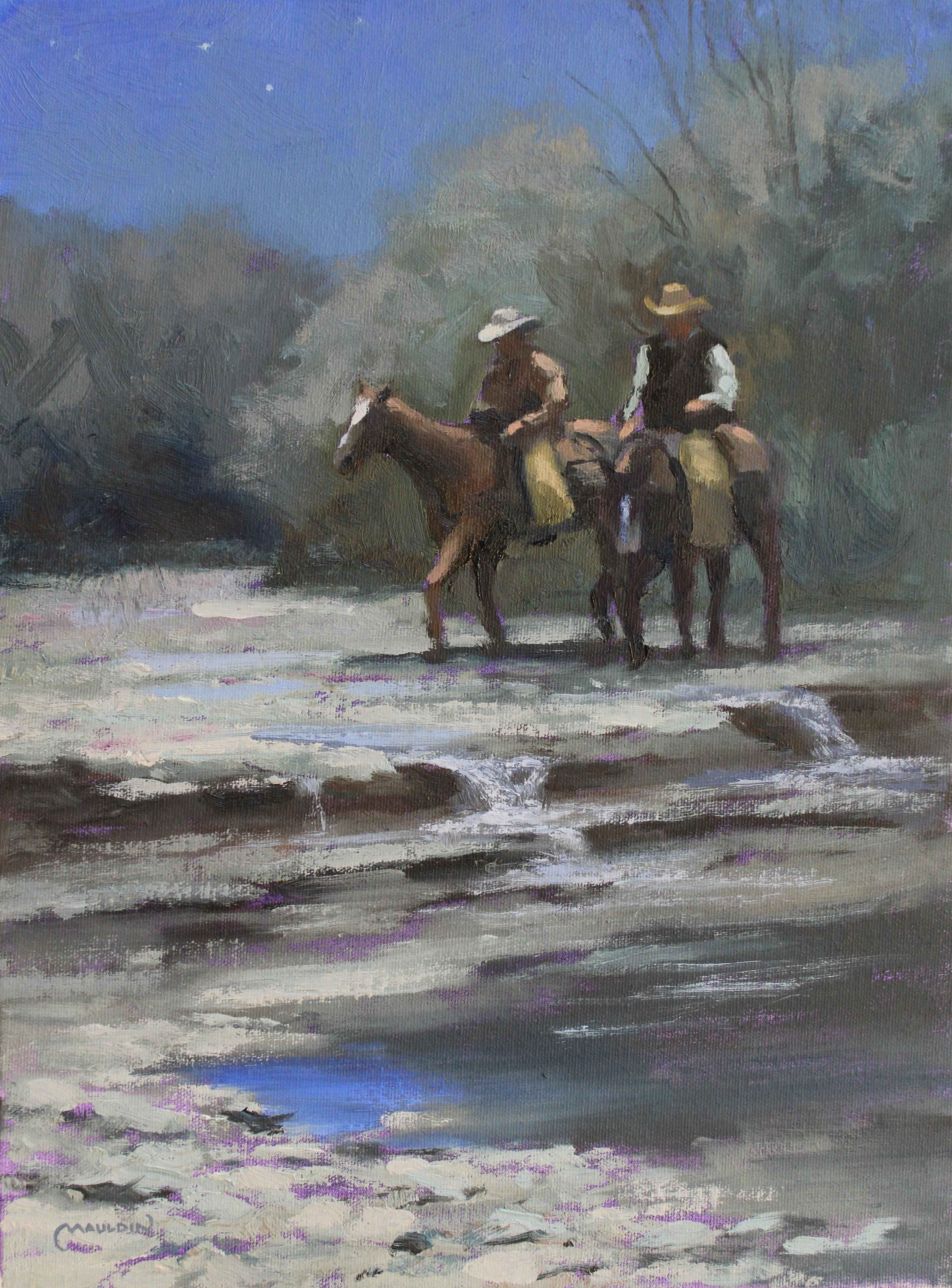 Moonlit Riders by  Chuck Mauldin - Masterpiece Online