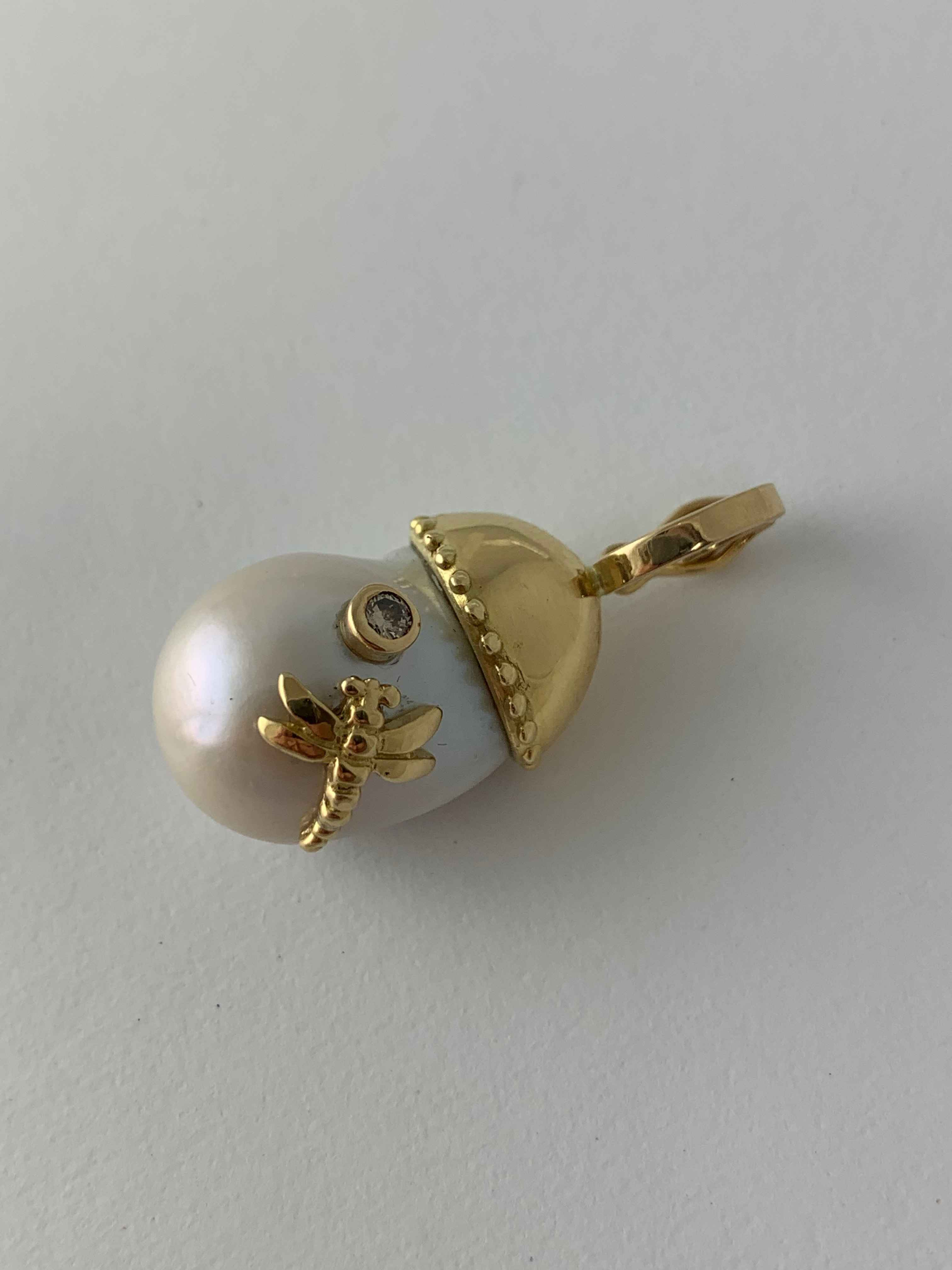Baroque Pearl Pendant by  Victoria Adams - Masterpiece Online