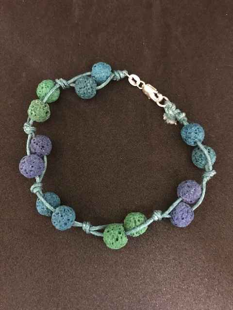 Volcanic Rock Bracelet by Mrs Larissa Hale - Masterpiece Online