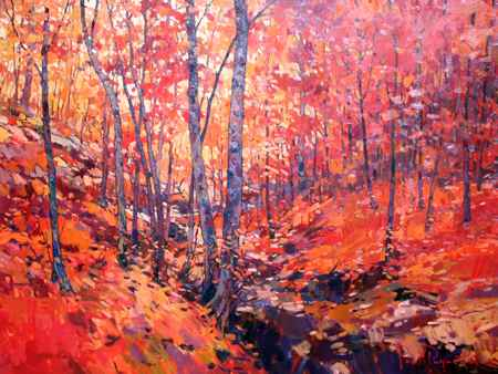 Deep in the Autumn Wo... by  Paul Paquette - Masterpiece Online