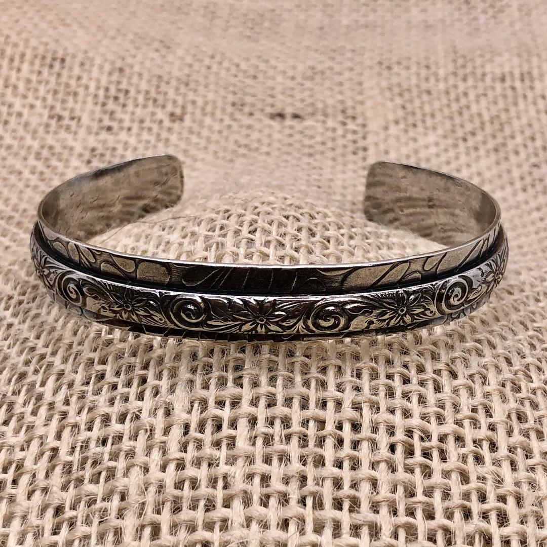 Textured Sterling Silver - Cuff Collection