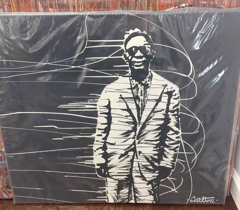 Lightnin's Blues Sess... by  Trevor Carlton - Masterpiece Online