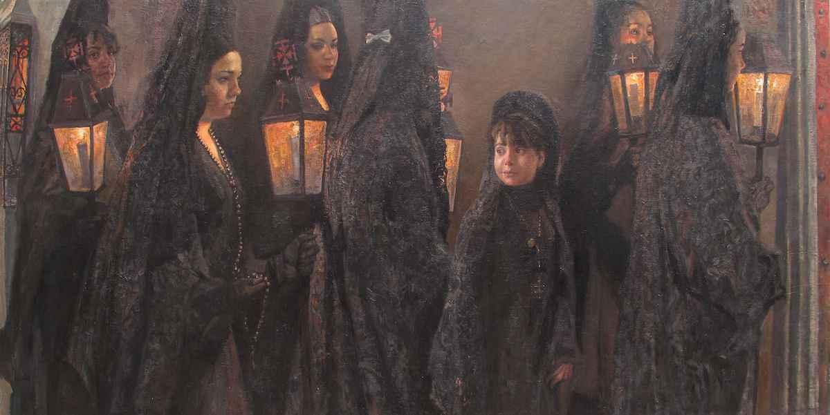 Semana Santa, Olvera by  Daud Akhriev - Masterpiece Online