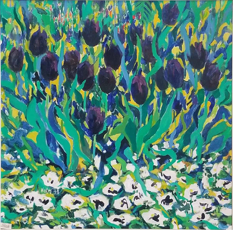 Garden's Edge Dancing... by  Mary Theisen - Helm - Masterpiece Online