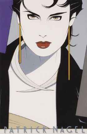 Michelle Poster for G... by  Patrick Nagel - Masterpiece Online