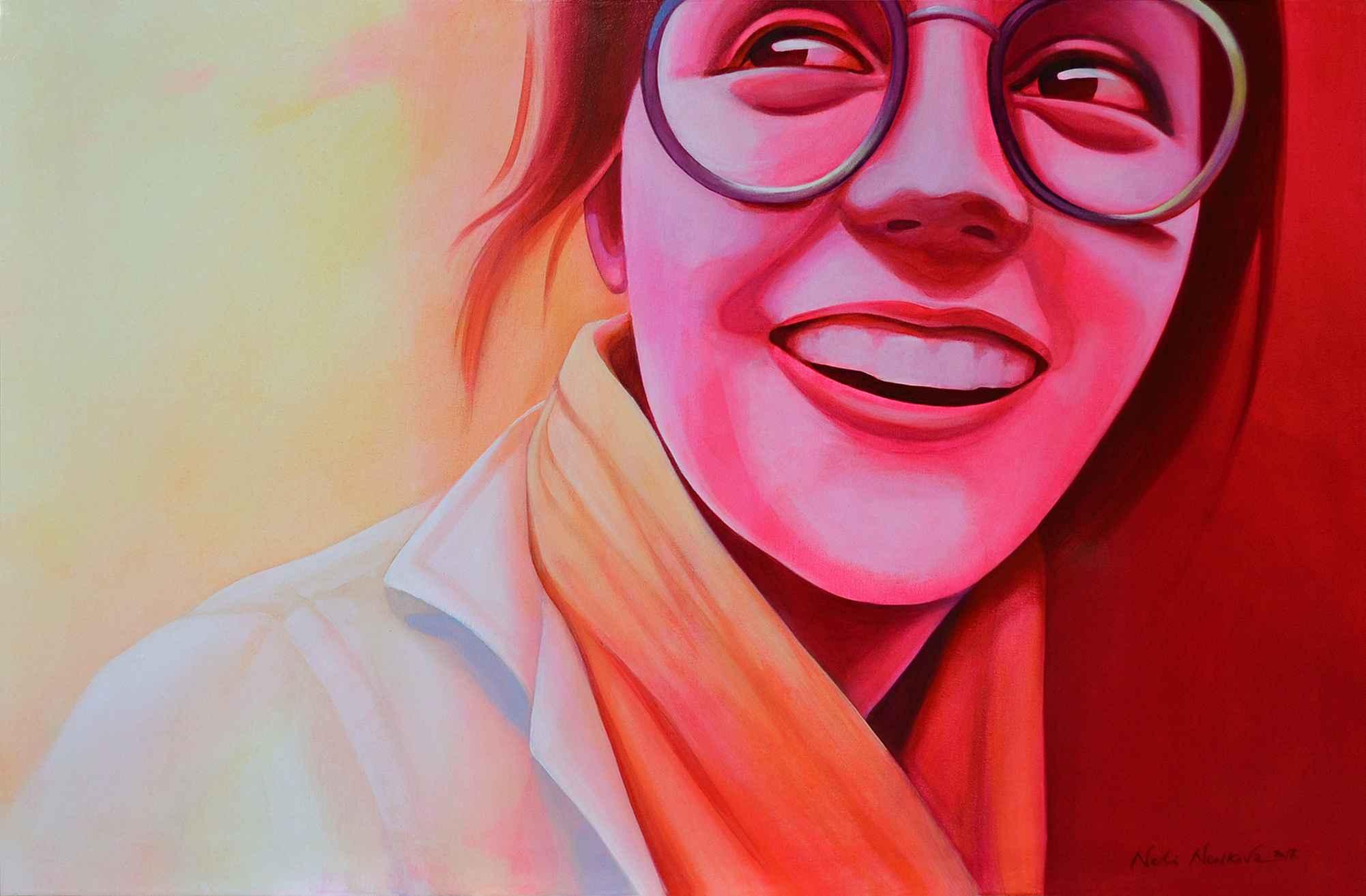 HAPPINESS IS FUEL  by  Neli Nenkova