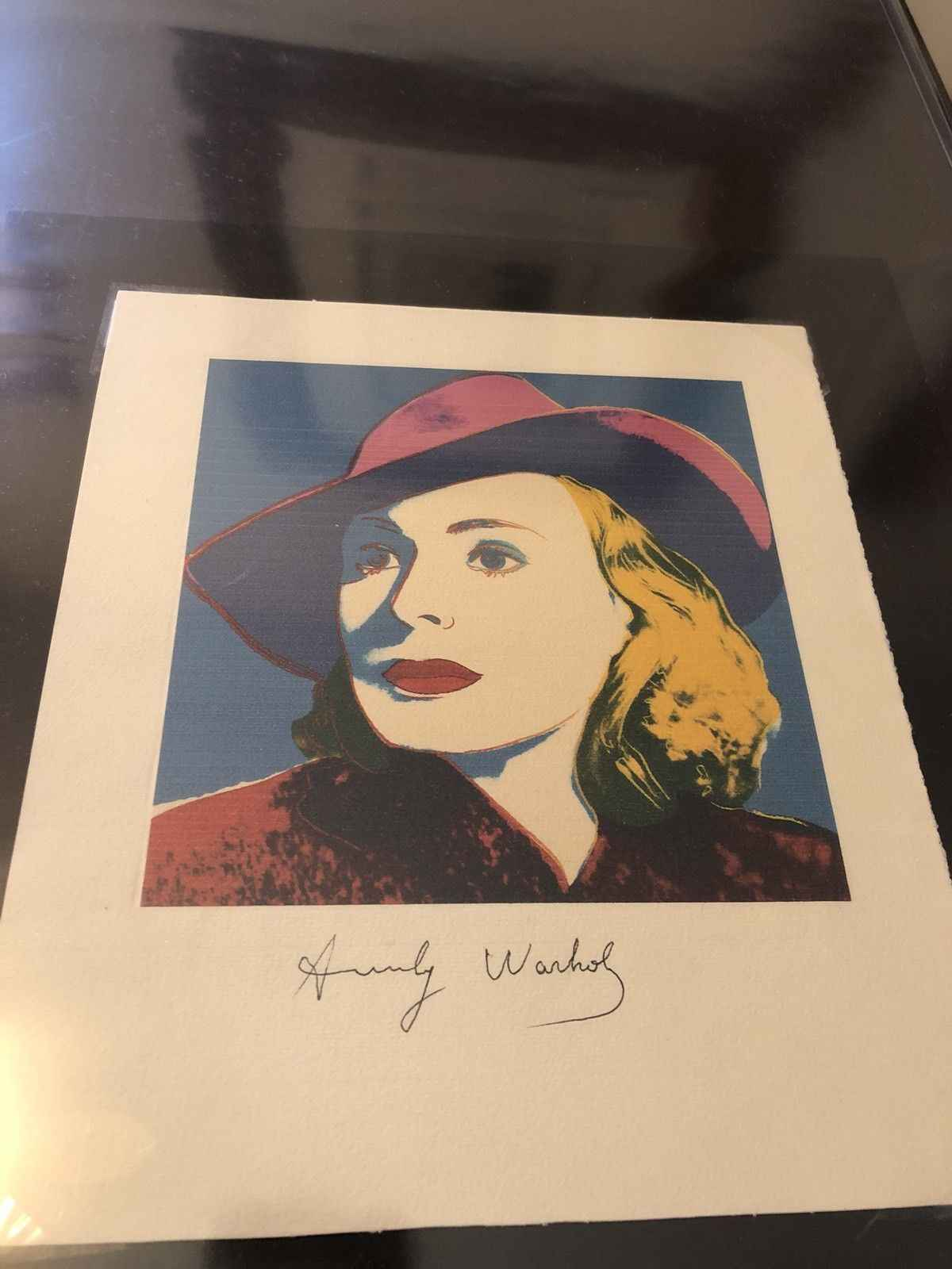 Ingrid Bergman with H... by  Andy Warhol - Masterpiece Online