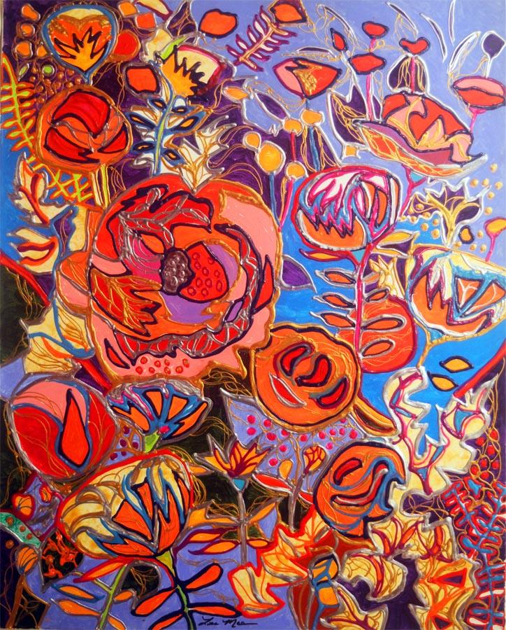 Expansive Flowering by  Lisa Mee - Masterpiece Online