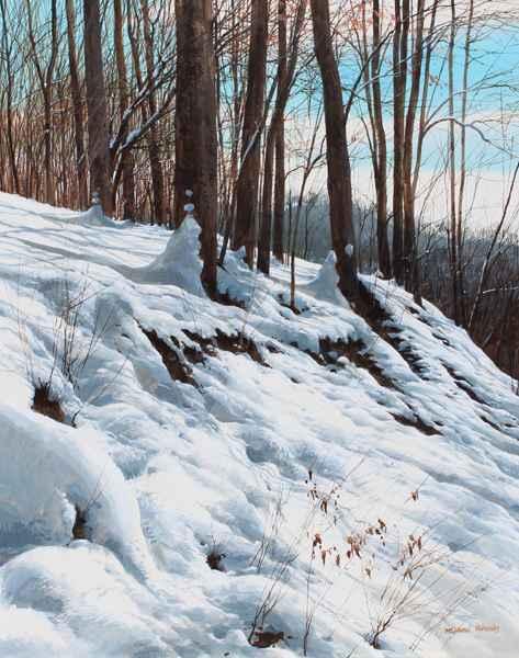 Hill's Edge - Bright ...  by  Michael Wheeler