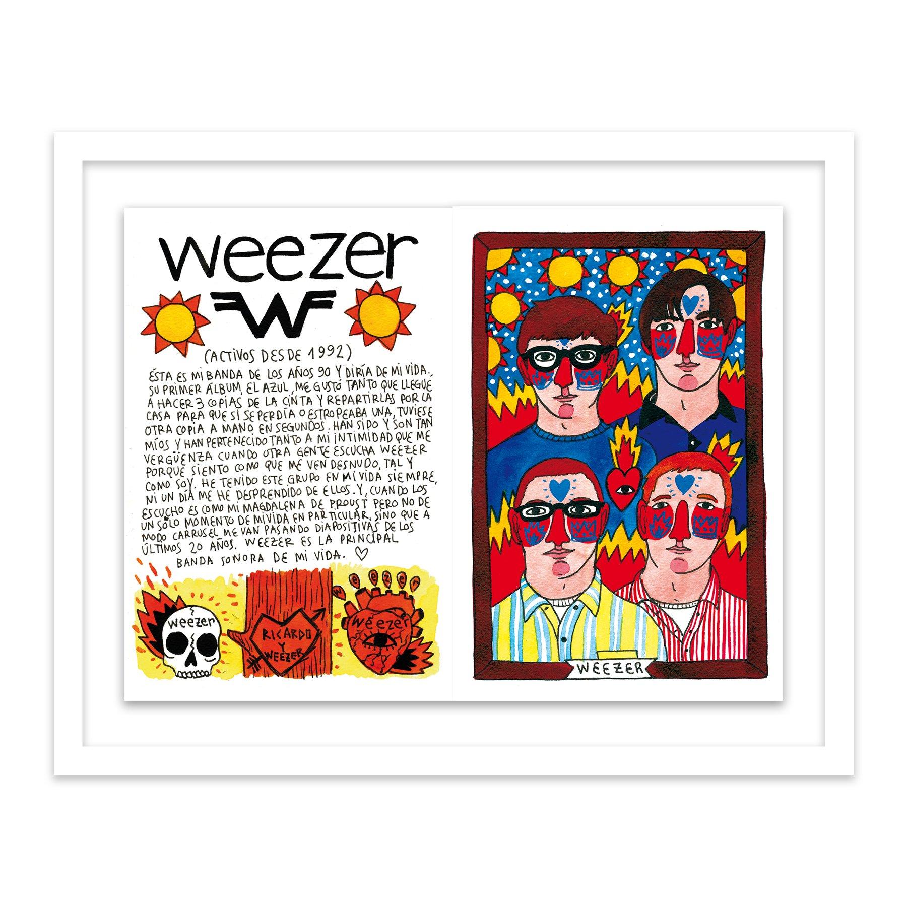 101 Weezer by  Ricardo Cavolo - Masterpiece Online