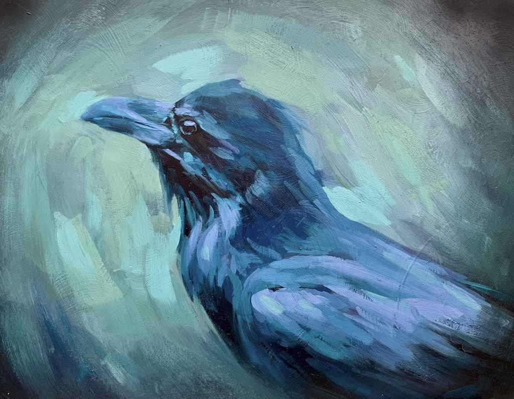 Huginn by  Holly McWilliams - Masterpiece Online