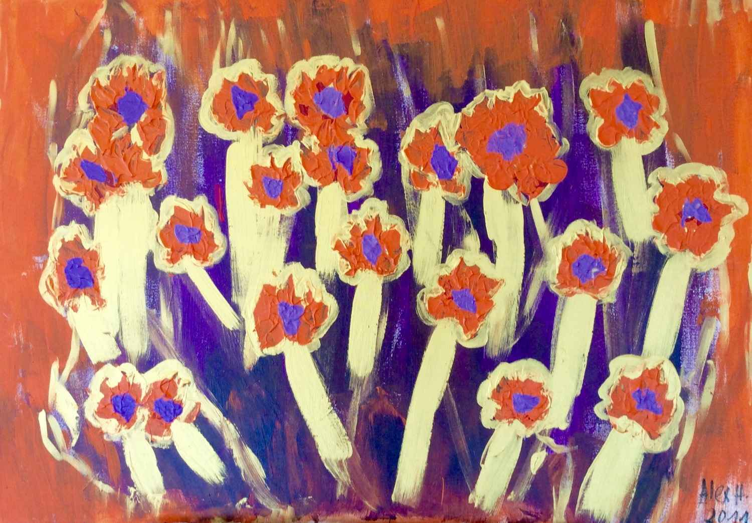 Flowers by Carmen by  Alexandra HEUMBER PERRY - Masterpiece Online